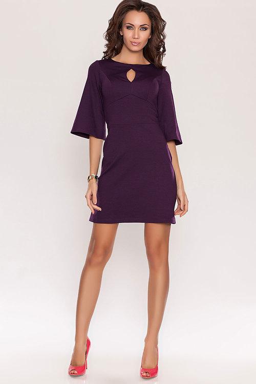 Короткие фиолетовые платья фото 2