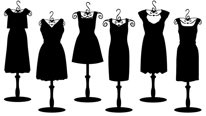 фасоны маленьких черных платьев фото 1