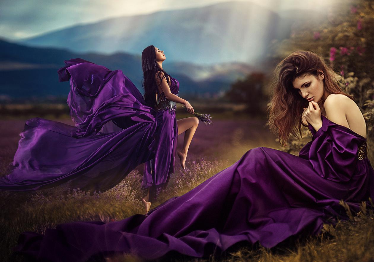 фиолетовое платье фото 1