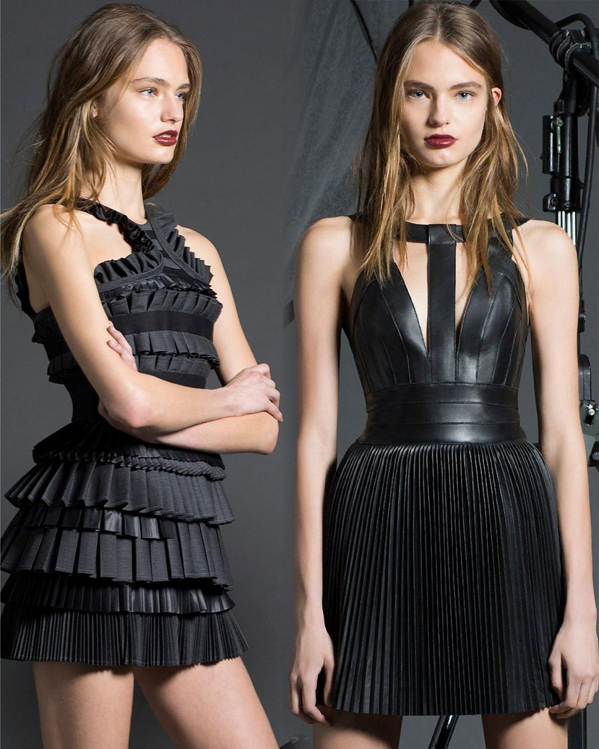 черные платья короткие фото 3