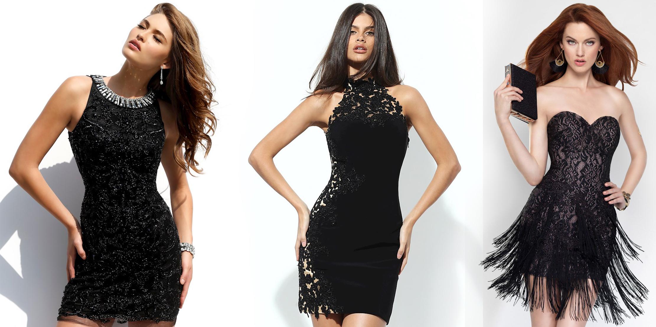 фасоны маленького чёрного платья фото 4