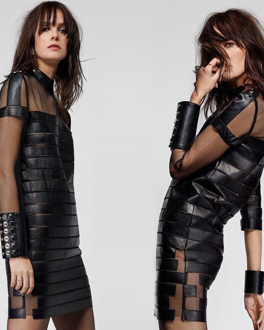 черные платья короткие фото 2