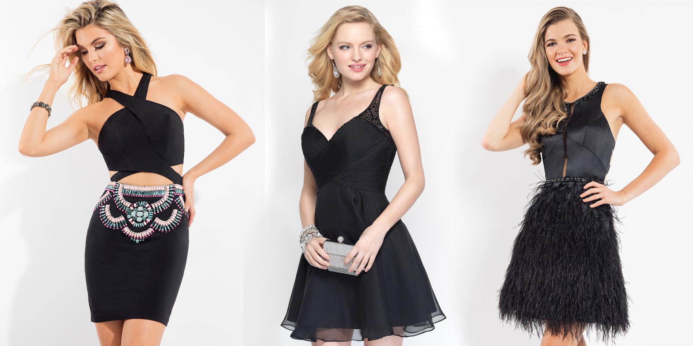фасоны маленького чёрного платья фото 6