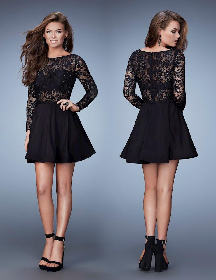 короткие вечерние платья черного цвета фото 5