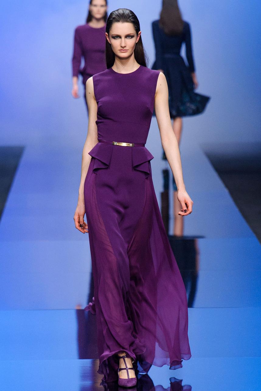 Вечерние платья фиолетового цвета фото 4
