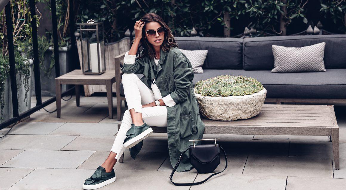 Зеленый цвет в одежде (фото 1_1)