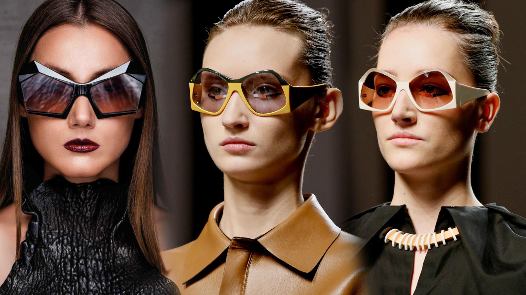 геометрические очки