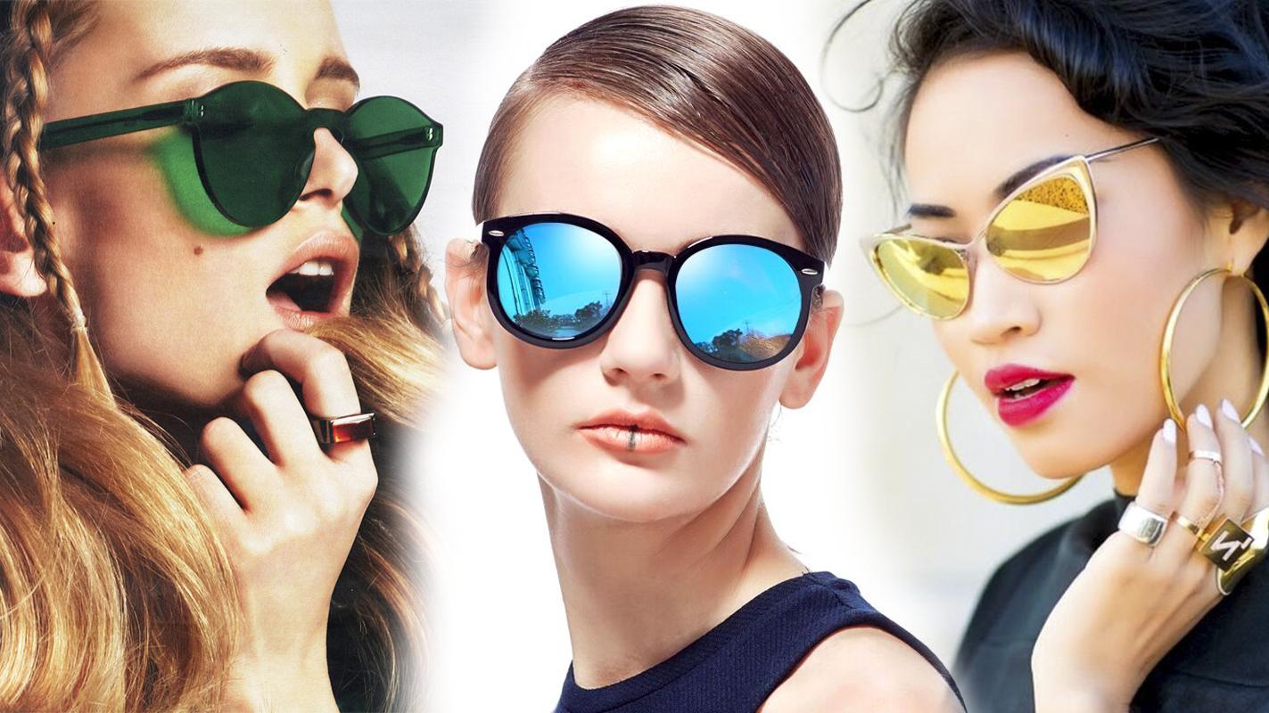 очки разноцветные линзы