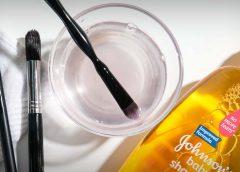 Как и чем мыть кисти для макияжа?
