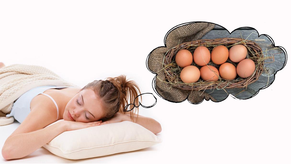Сновидения о манипуляциях с яйцами