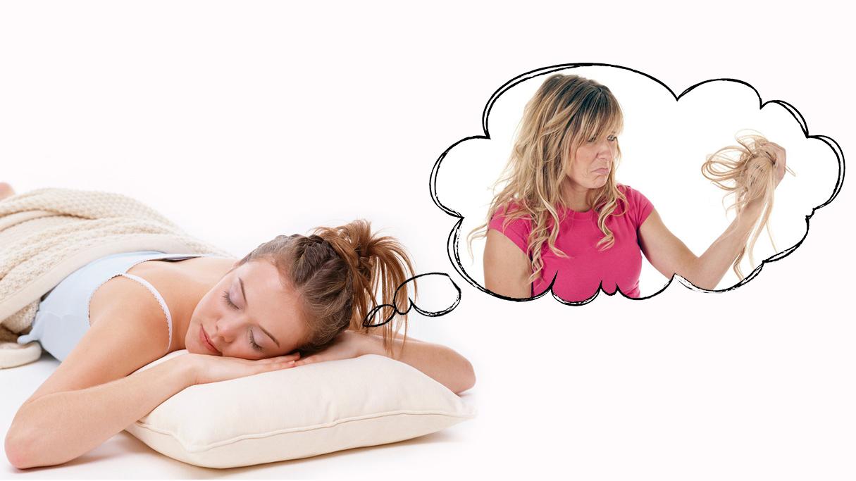 Сон выпадают волосы клоками