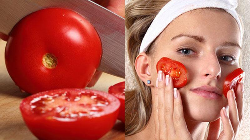 Экспресс-маска из помидоров
