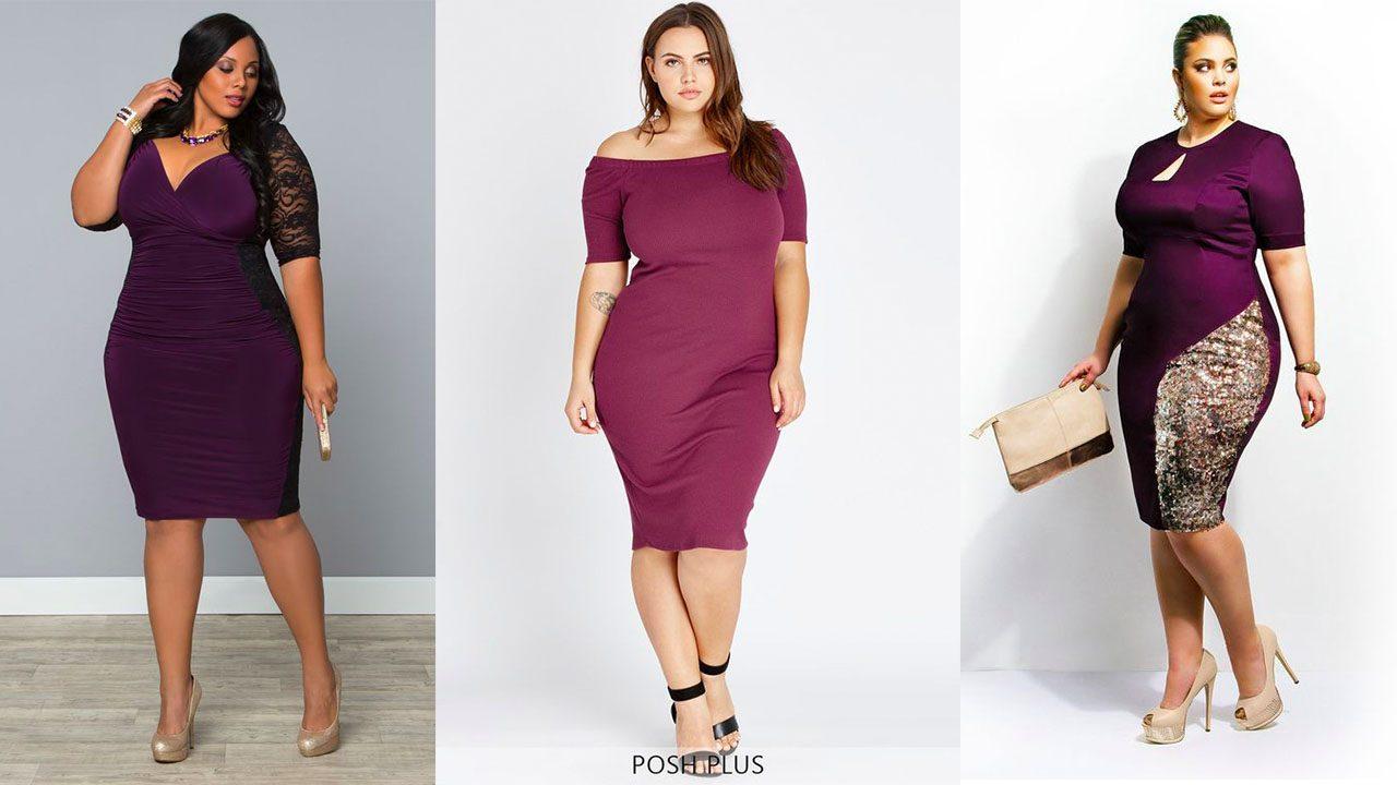 Платья для полных женщин (фото 14)
