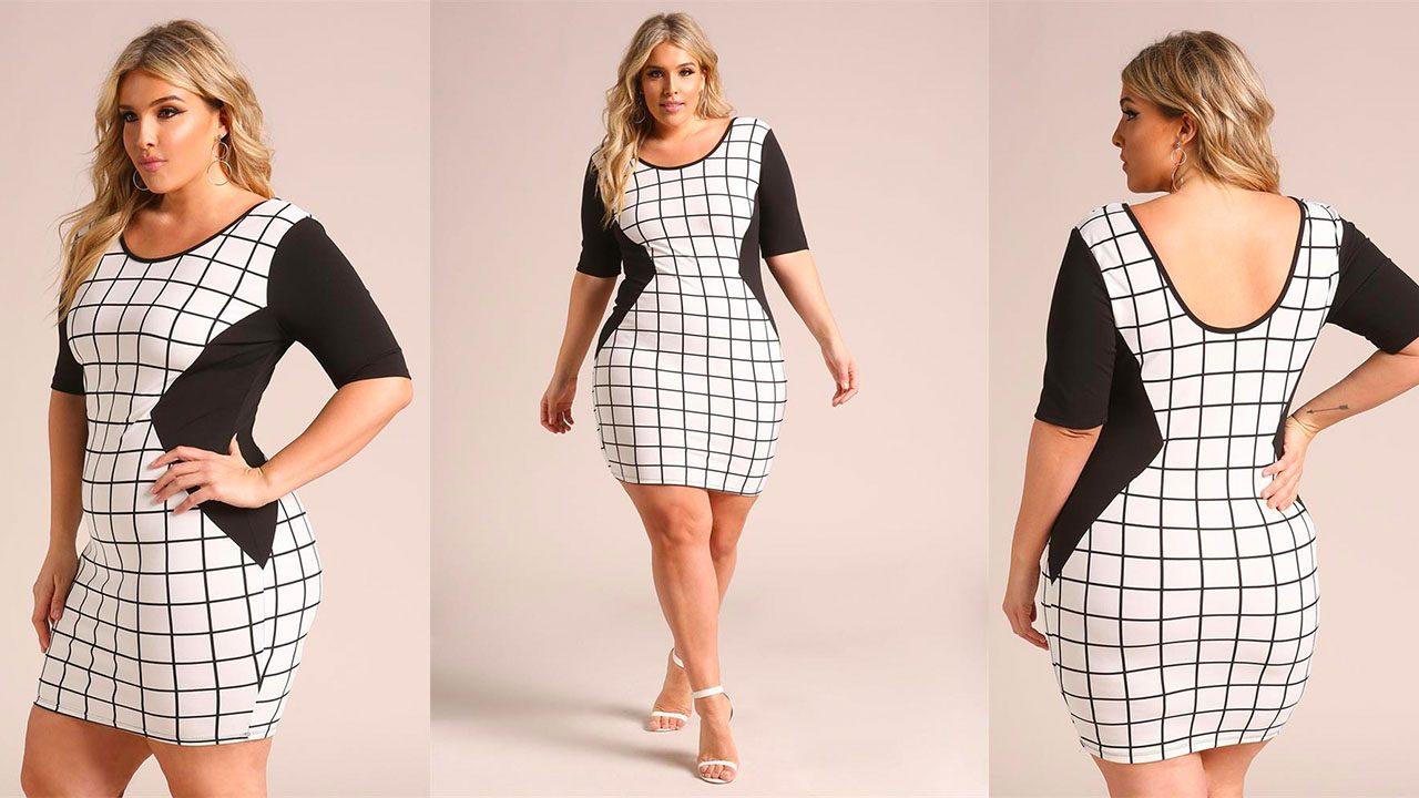 Платья для полных женщин (фото 5)