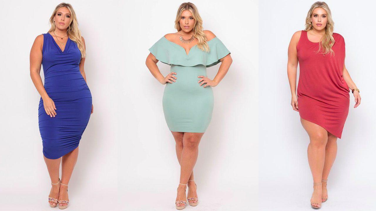 Платья для полных женщин (фото 11)