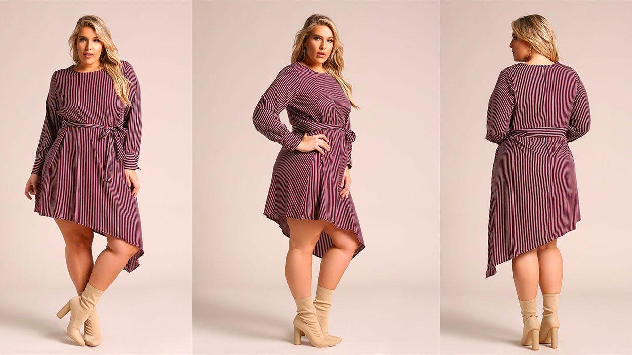 Платья для полных женщин (фото 4)