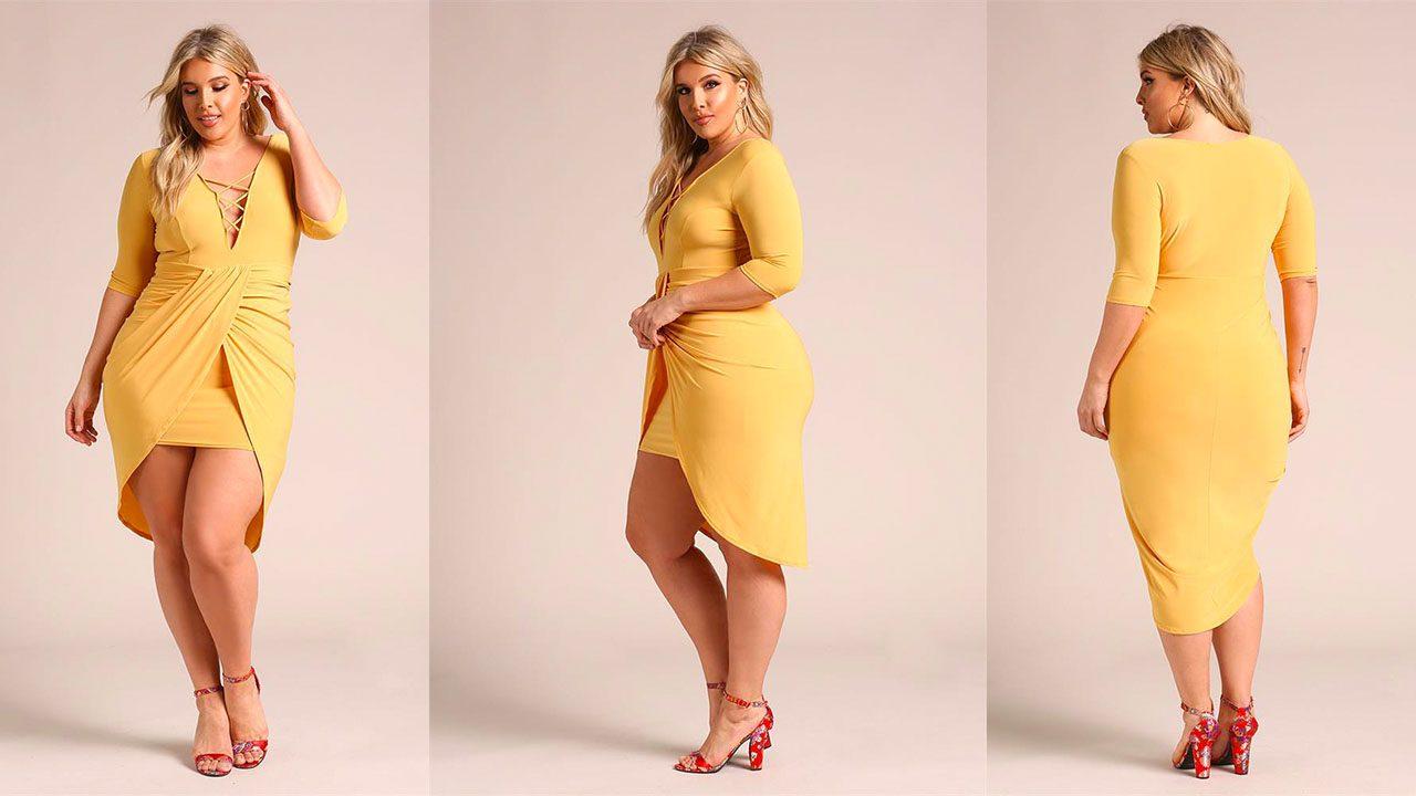 Платья для полных женщин (фото 6)