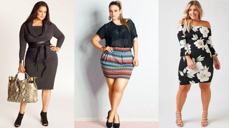 Как одеваться полным женщинам?