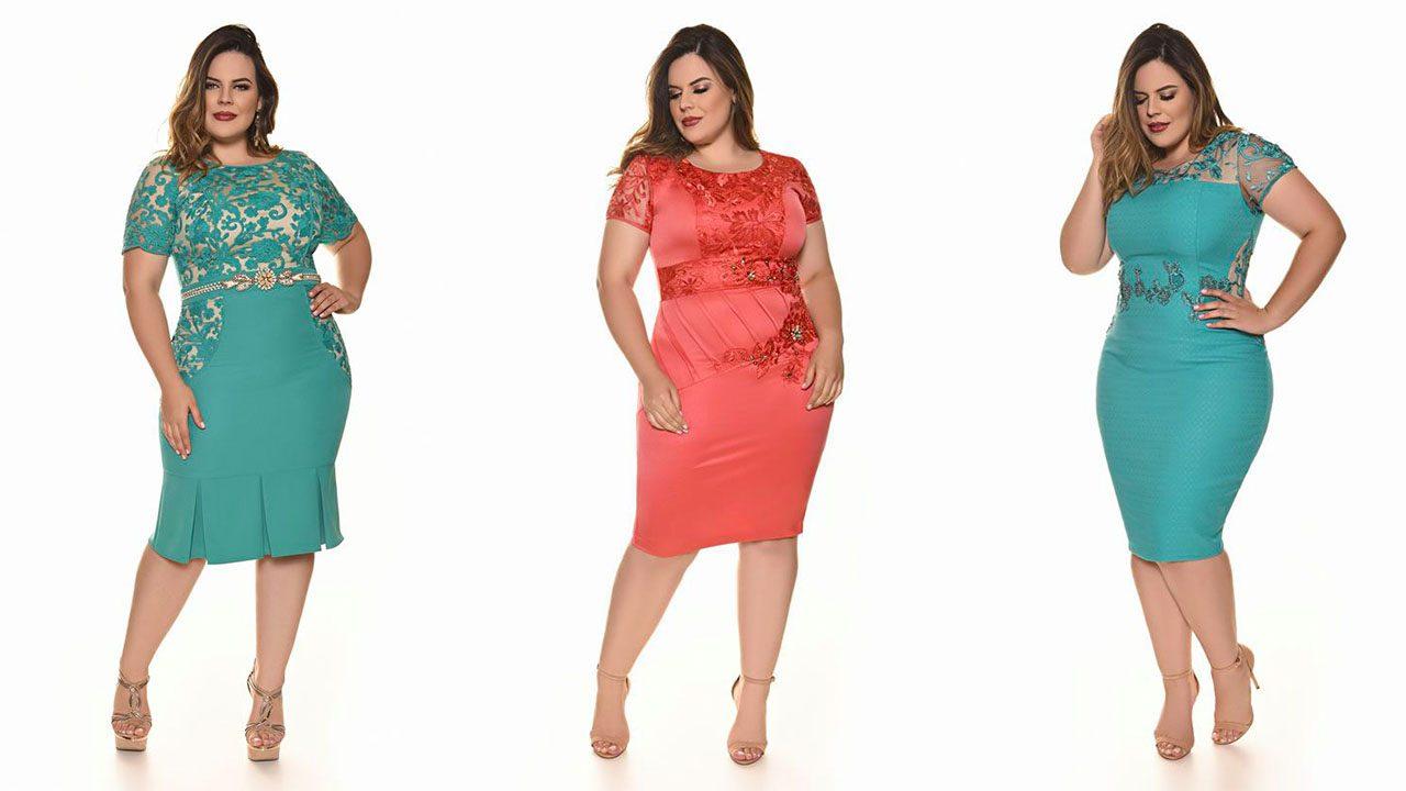 Платья для полных женщин (фото 15)