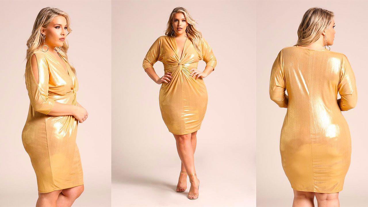 Платья для полных женщин (фото 3)