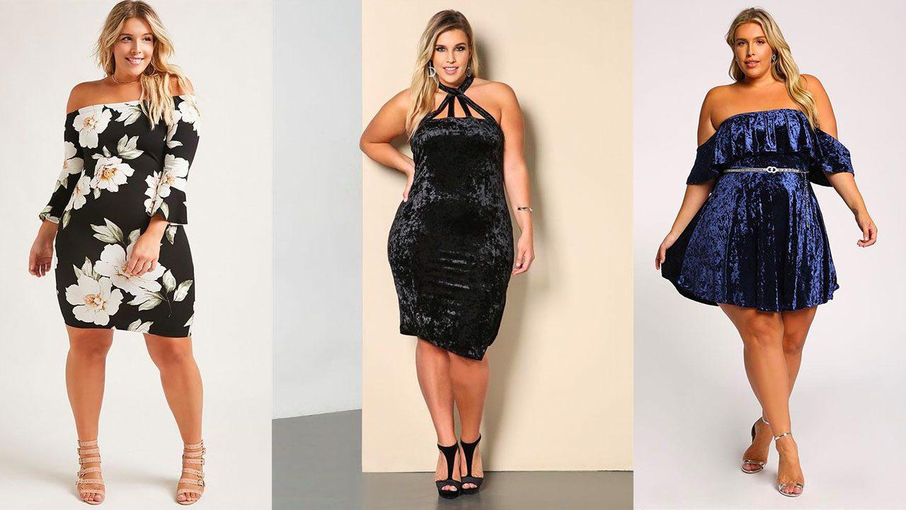 Платья для полных женщин (фото 12)