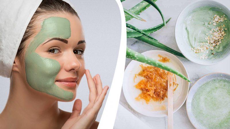 Противовоспалительные маски в домашних условиях