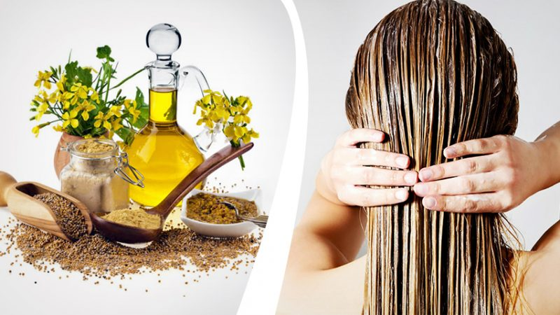 Маска с горчицей для роста и укрепления волос
