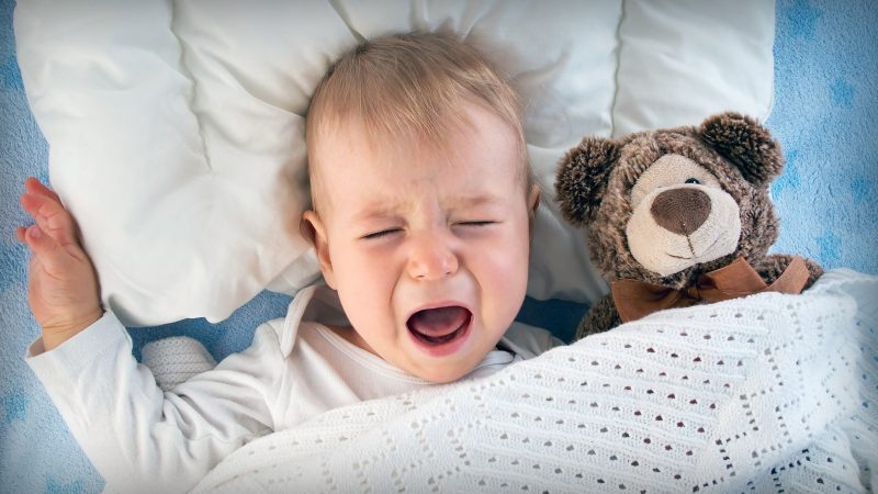 Ребенок плохо спит по ночам